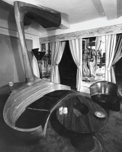 """Wendell Castle, 'Unique """"Pedestal"""" chair', 1967"""