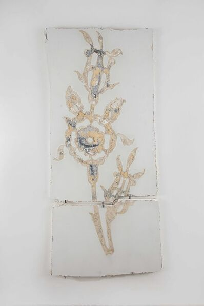 Burçak Bingöl, 'Displaced Gallery Wall Or aFragmented Memory Of aRose', 2017