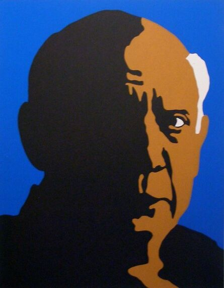 Rupert Garcia, 'Pablo Picasso', 1973
