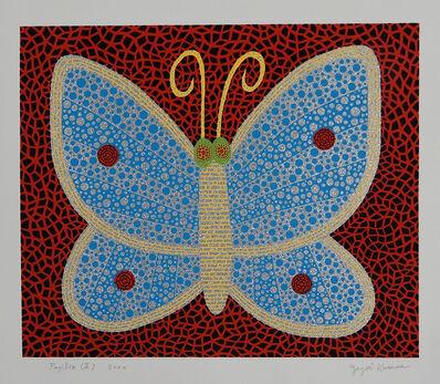 Yayoi Kusama, 'Papillon (II) from Portfolio Amour Pour Toujours', 2000
