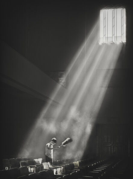 James Chung 鍾文略, 'Let There be Light', 1957