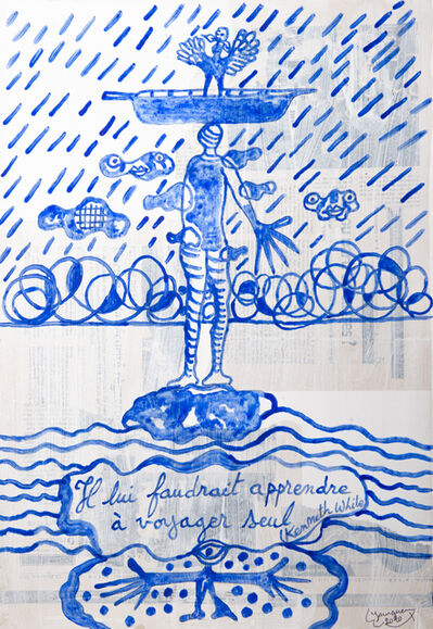 Hervé Yamguen, 'Hommage à Kenneth White #3', 2020