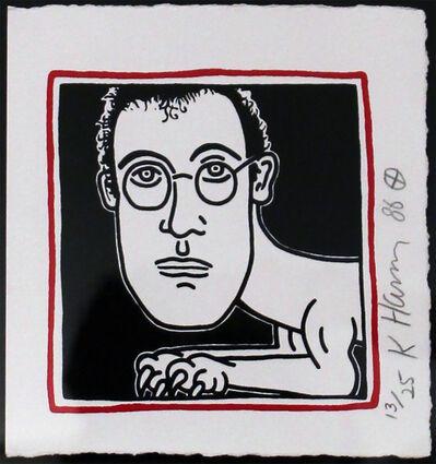 Keith Haring, 'Self Portrait', 1986
