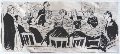 Joaquín Torres-García, 'El banquete', 1912