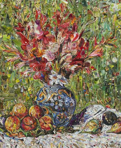 Vik Muniz, 'Flowers and Fruit, after Pierre-Auguste Renoir', 2013