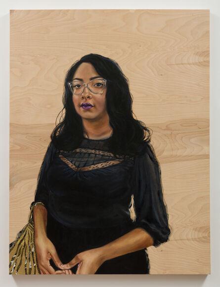 Shizu Saldamando, 'Sashiko', 2018