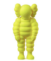 KAWS, 'What Party - Chum (Yellow)', 2020