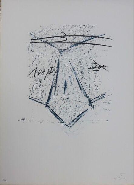 Antoni Tàpies, 'LLambrec 12', 1975