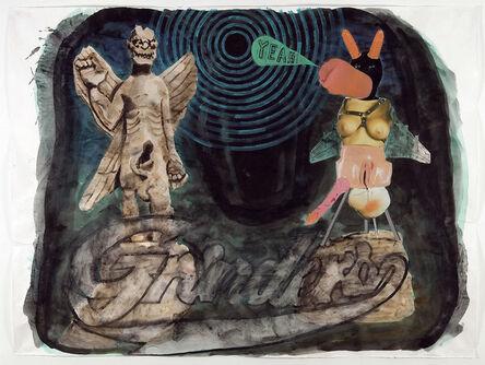 Damien Deroubaix, 'Grinders', 2006