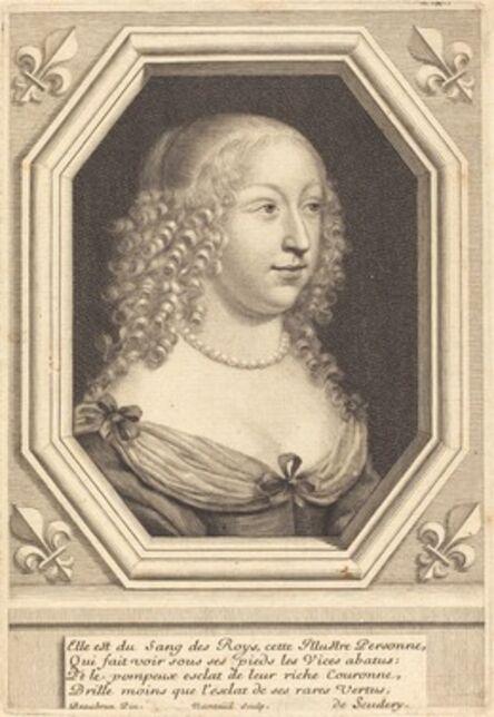Robert Nanteuil after Henri Beaubrun, 'Marie d'Orléans-Longueville, Duchesse de Nemours', 1654
