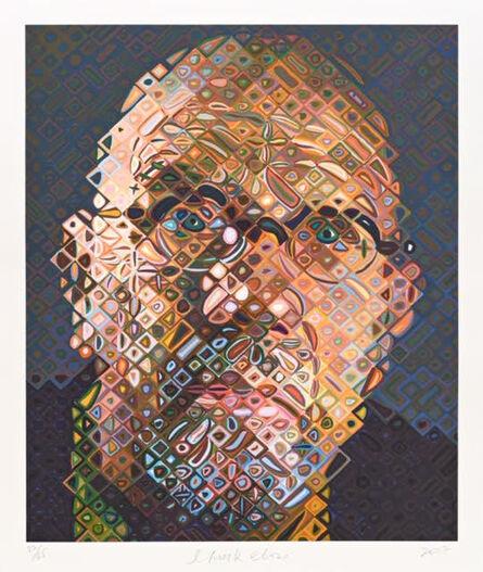 Chuck Close, 'Self-Portrait', 2017