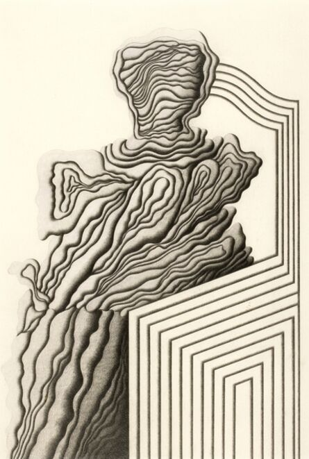 Roberto Aizenberg, 'Character on a sofa', 1979