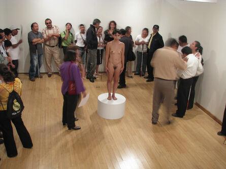 Regina José Galindo, 'Blind Spot (Punto ciego)', 2010
