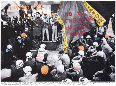 """Marcelo Brodsky, 'From the series """"1968, the fire of the ideas"""", Tokyo, 1968', 2014-2017"""