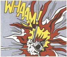 Roy Lichtenstein, 'Whaam!', 1964