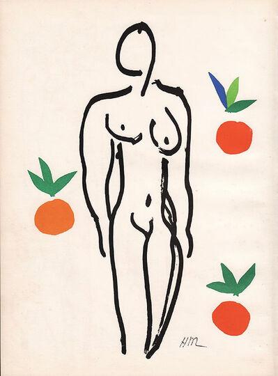Henri Matisse, 'Nude With Oranges', 1954