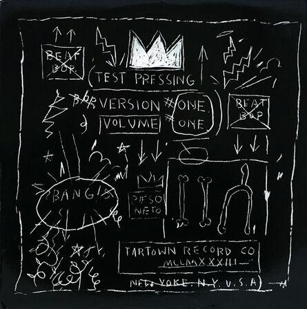 Jean-Michel Basquiat, 'Basquiat Beat Bop Vinyl Record ', 2001