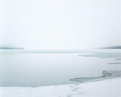 Ron Jude, 'Frozen lake w/Footprints', 1998/2011