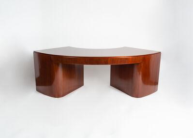 Jacques Adnet, 'Fine Semicircular Desk', ca. 1936