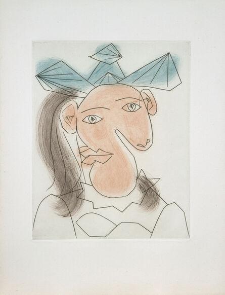 Pablo Picasso, 'Tète de femme No. 7. Portrait de Dora Maar', 1939
