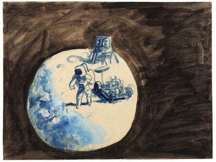 Antonio Berni, 'Sin Título ( Apolo 15)', ca. 1972-1973