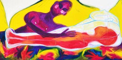 Joseph Caster, 'Lamenting Through a Glass Coffin', 2021