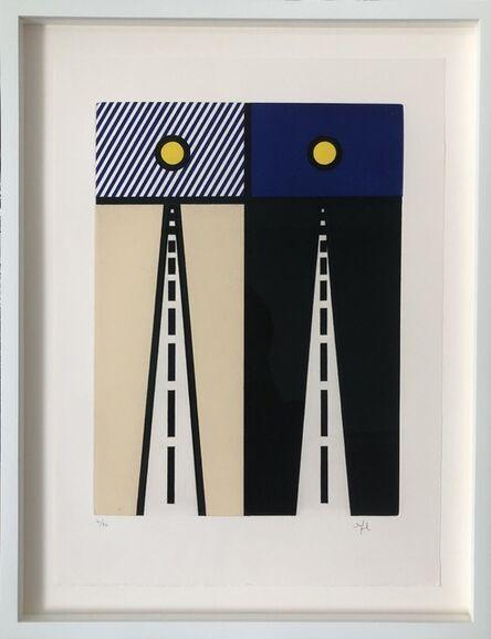 Roy Lichtenstein, 'Auto Poésie: en Cavale de Bloomington, from La Nouvelle Chute de l'Amérique', 1992
