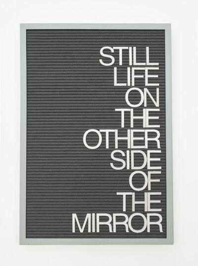 Maynard Monrow, 'Untitled / Mirror (Homage to Rene Ricard)', 2017