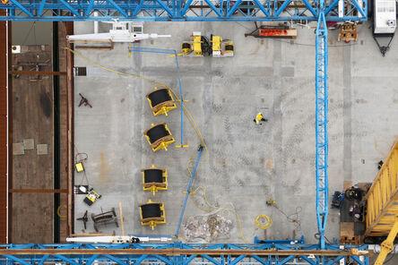 Stuart McCall, 'Port Mann Bridge: Deck From North Tower', 2012