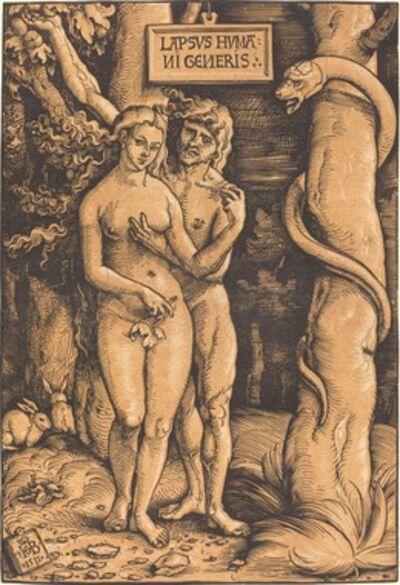 Hans Baldung, 'Adam and Eve', 1511