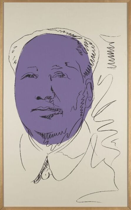 Andy Warhol, 'Mao (wallpaper) [Feldman & Shellmann II.125A]', 1974