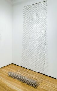 Yumi Janairo Roth, 'Chainlink Fence | 10,000dwt (pennyweights)'