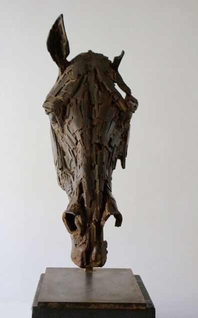 Christophe Charbonnel, 'Head of Metal Horse', 2017