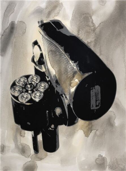 Robert Longo, 'Untitled (Gun), from the Hope and Optimism Portfolio', 1983