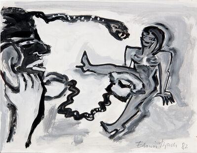 Elvira Bach, 'Moderne Medien', 30.11.1982