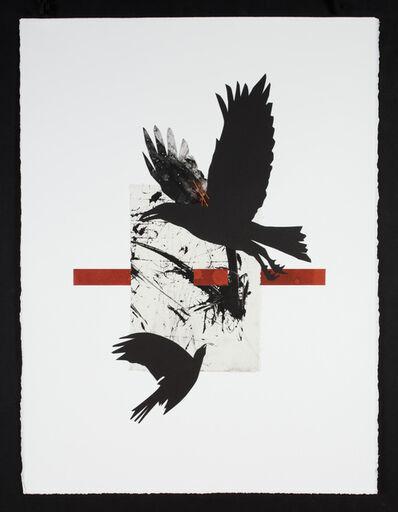 Ramona Sakiestewa, 'Raven @ the Big Bang 3', 2021