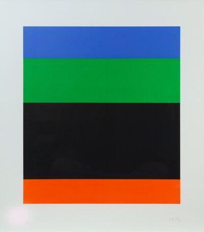 Ellsworth Kelly, 'Blue Green over Black Red (Axsom 76)', 1971
