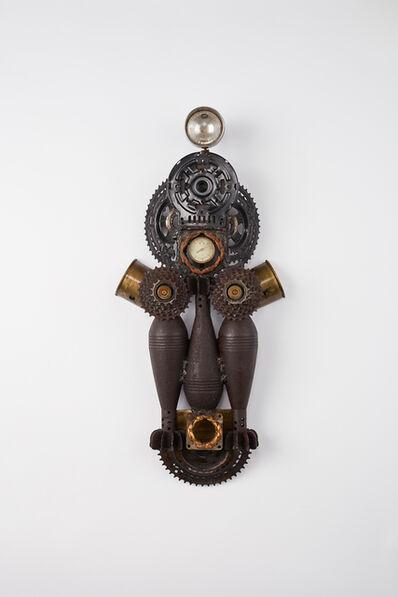 Gonçalo Mabunda, 'Untitled (mask)', 2017