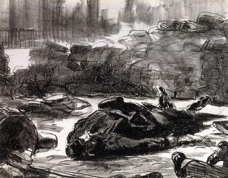Édouard Manet, 'Guerre civile', 1871