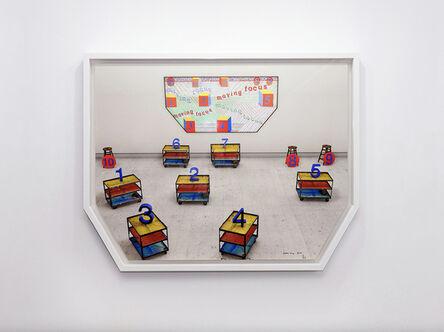 David Hockney, 'Focus Moving', 2018