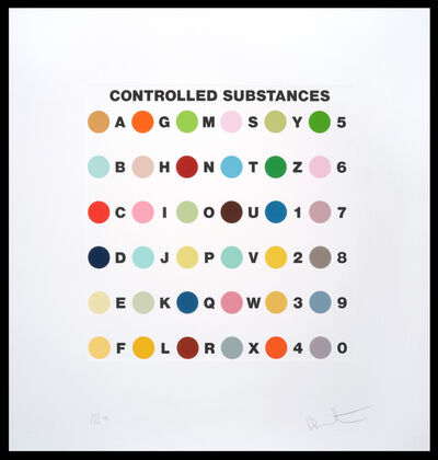 Damien Hirst, 'Controlled Substance Key Spot/Ph', 2012