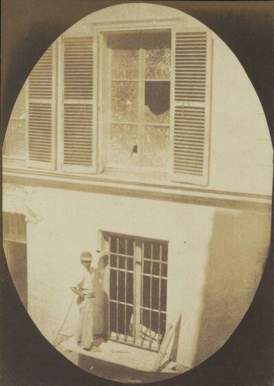 Hippolyte Bayard, 'Construction Worker, Paris,', About 1845-1847