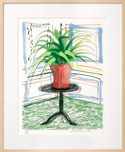 David Hockney, 'iPad drawing 'Untitled, 468', 2010 with David Hockney. A Bigger Book. Art Edition No. 501–750', 2016
