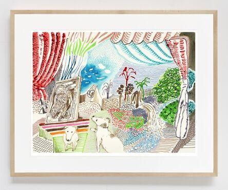 David Hockney, 'Ruby Dreaming ', 2019
