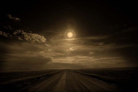 Jack Spencer, 'Ring Around the Sun, Badlands, South Dakota', 2007