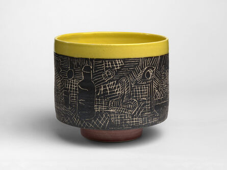 Grantchester Pottery, 'Sgraffito Bowl', 2017