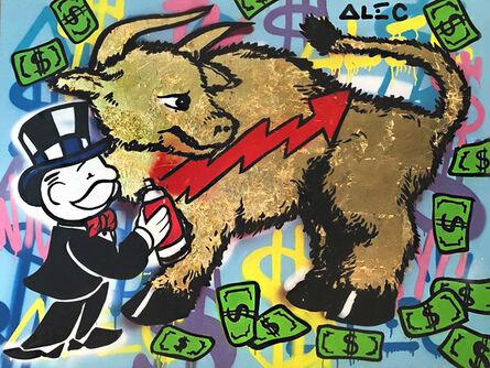Alec Monopoly, 'Gold Bull', ca. 2015
