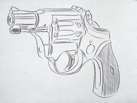 Andy Warhol, 'Gun', 1981-1982