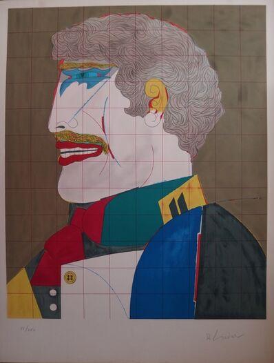 Richard Lindner, 'Self portrait in costume', XXth century