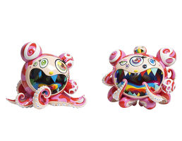 Takashi Murakami, 'Mr. Dobtopus A & B As A Set', 2017